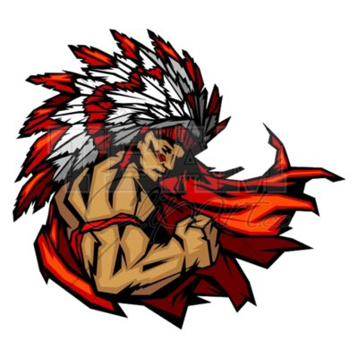 Indian chief mascot clipart 3