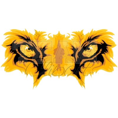 Lion eyes clipart