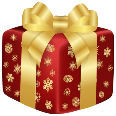 Christmas Present gift clipart