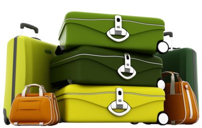 Suitcases PNG Clipart Picture