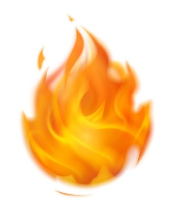 Flaming Fire clipart