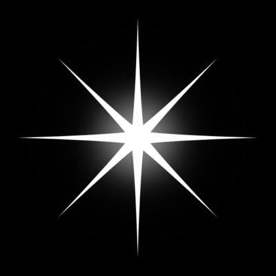 Star Shining Effect Transparent PNG Clip Art Image