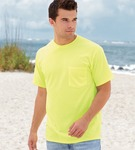 Fruit of the Loom Pocket T-Shirt