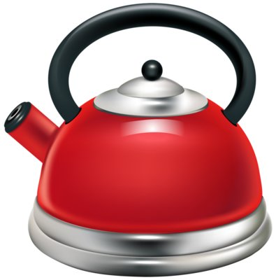 Red Kettle PNG Clipart 698