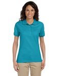Ladies' 5.6 oz., 50/50 Jersey Polo with SpotShield™