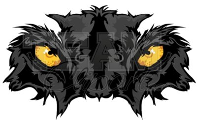 Panther eyes clipart