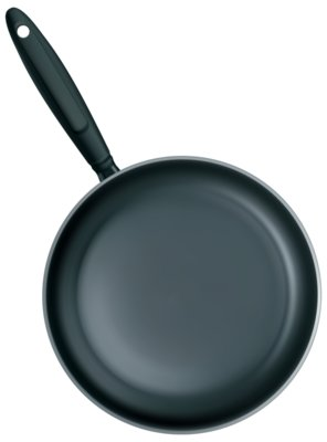 Black Frying Pan PNG Clipart 133