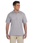 Adult Ultra Cotton® Adult 6 oz. Jersey Polo